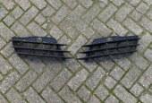 Br R8 rooster grill voorbumper links rechts Audi 420807682