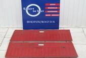 2x rood Deurpaneel B Kadett 2 deurs bj '68 t/m '73