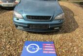 Voorbumper Opel Astra G + verstralers bj '98 t/m '03
