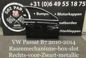 Afbeelding 1 van VW Passat B7 deur portier Rechts Zwart Metallic 2010-2014