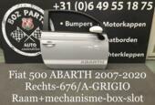 FIAT 500 ABARTH Deuren Portieren in kleur met bestickering