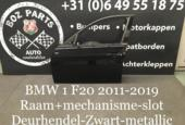 BMW 1 serie F20 Deur Portier Links 2011-2019 Zwart Metallic