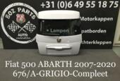 FIAT 500 ABARTH Achterklep Kofferklep Grigio 676/A Origineel