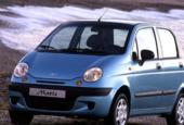 Bumper voorDaewoo Matiz 0.8 Class ('98-'04)blauw
