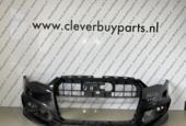 Lip voorbumper Audi A6  C7 S-LINE ('12-'18)4G0807437AB