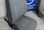 2x Stoel + rails voor camper bus etc rugleuning verstelbaar