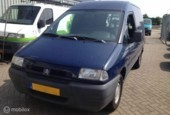 Citroën Jumpy - 1.9 D MOTOR DEFEKT € 599, - EXCL BTW