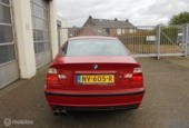 BMW 3-serie E46 316i Executive M-Tech, Imola Red, Alcantara