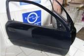 Deur deuren blauw  L+R Opel Astra G 3 deurs, bj '98 t/m '03