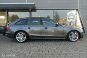 Audi A4 Avant - 2.0 TDI S Edition optic-black stoel verm MMI Xenon Led 177pk