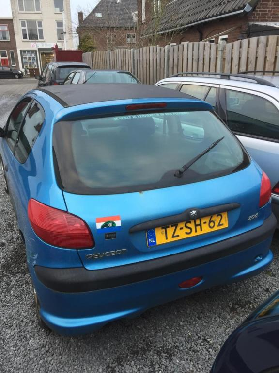 Afbeelding 2 van Peugeot 206 1.4 XS