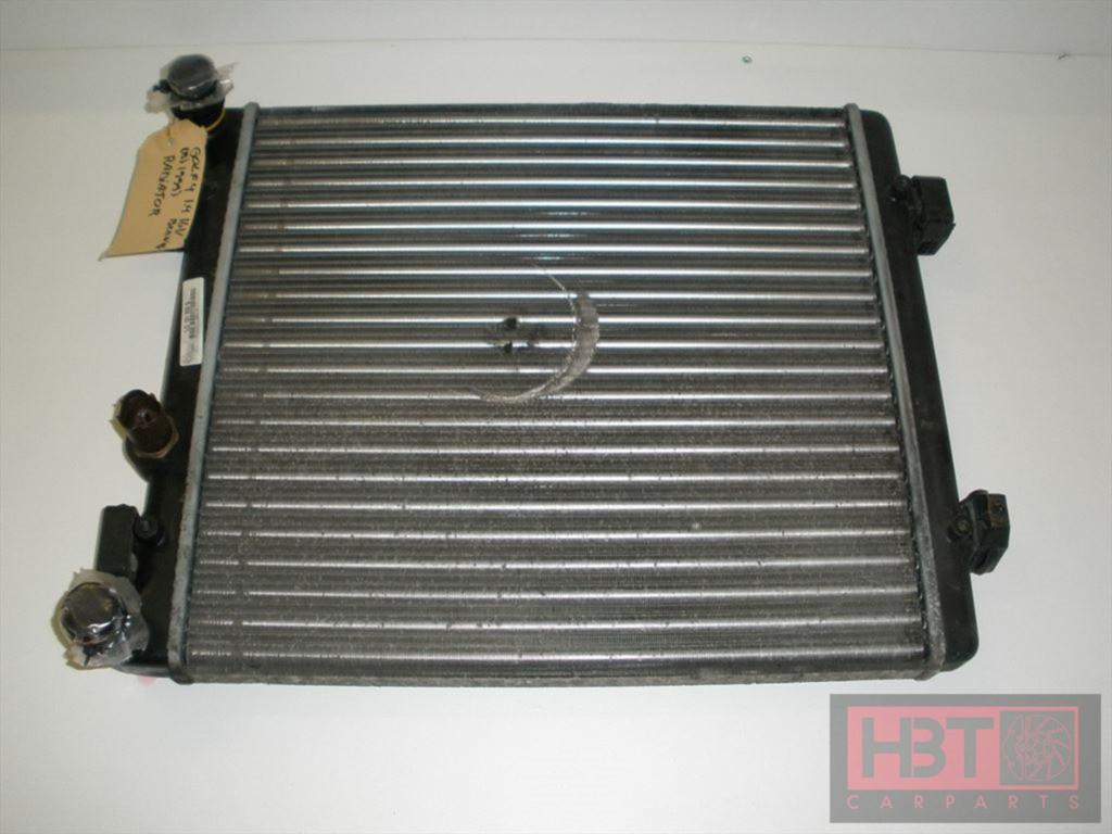 volkswagen golf 4 radiateur 1 4 16v benzine 1j0121253g hbt carparts. Black Bedroom Furniture Sets. Home Design Ideas