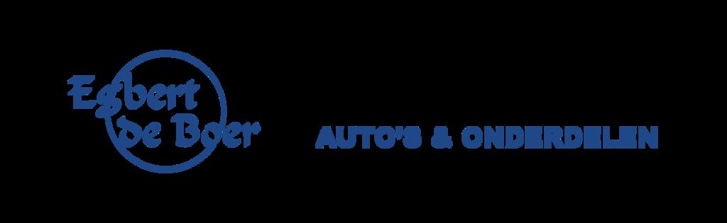 Auto/Onderdelenbedrijf Egbert de Boer logo