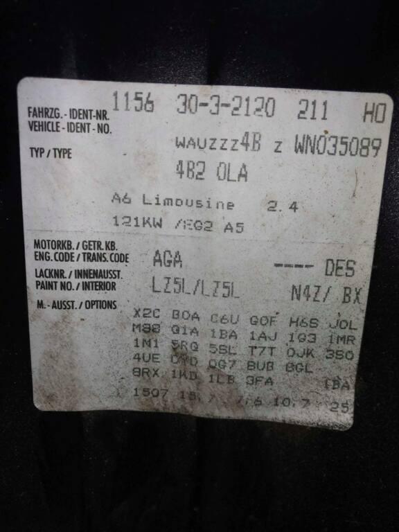 Afbeelding 28 van Audi A6 C5 2.8 5V Advance