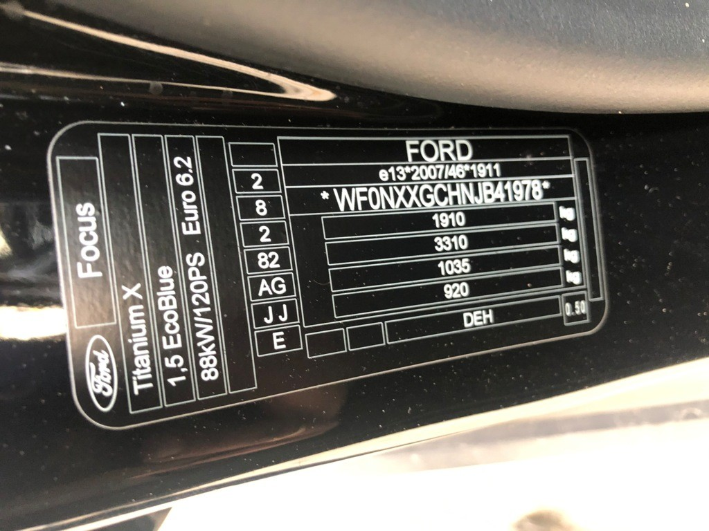 Afbeelding 25 van Ford Focus 1.5 EcoBlue Trend Edition
