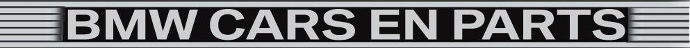 BMW Cars en Parts logo