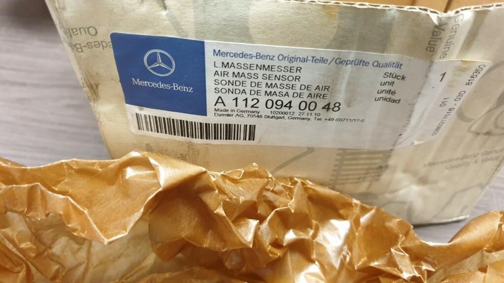Afbeelding 4 van Mercedes W163 W211 W209 Luchtmassameter nieuw A1120940048