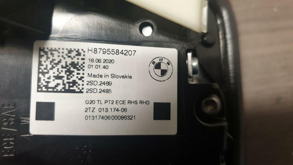 Afbeelding 3 van BMW 3-serie G20 LED Achterlicht rechtsH8795584207