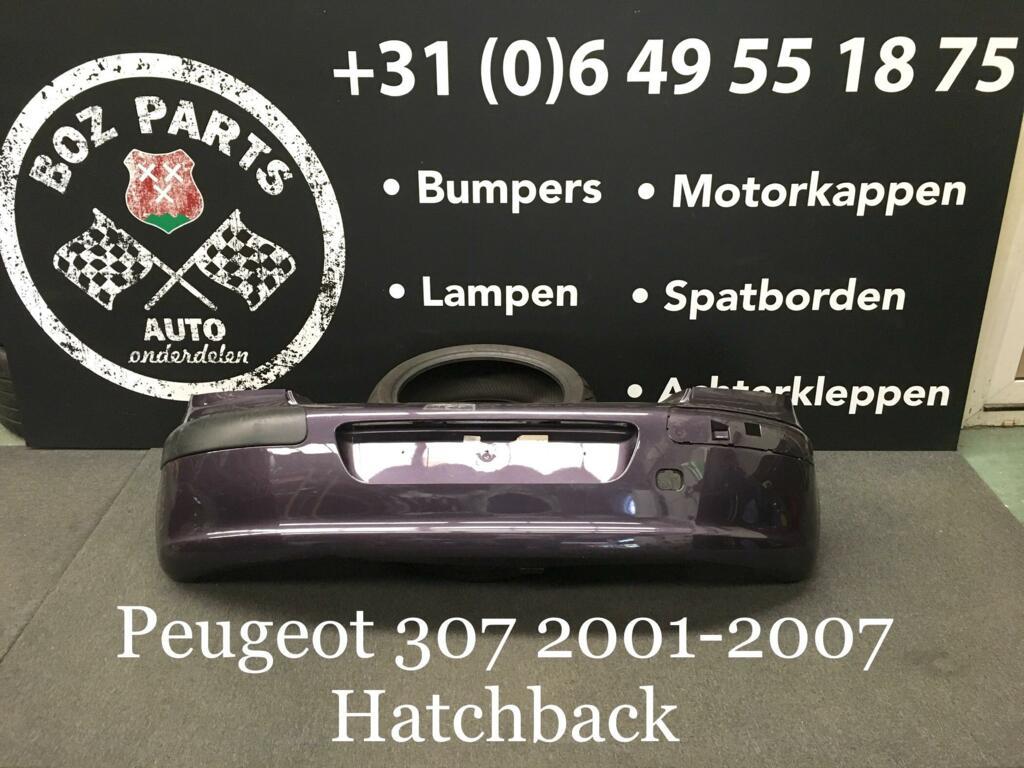 Afbeelding 1 van Peugeot 307 Achterbumper Origineel 2001-2007