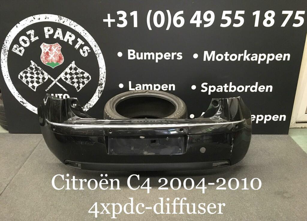 Afbeelding 1 van Citroen C4 Achterbumper Origineel 2004-2010
