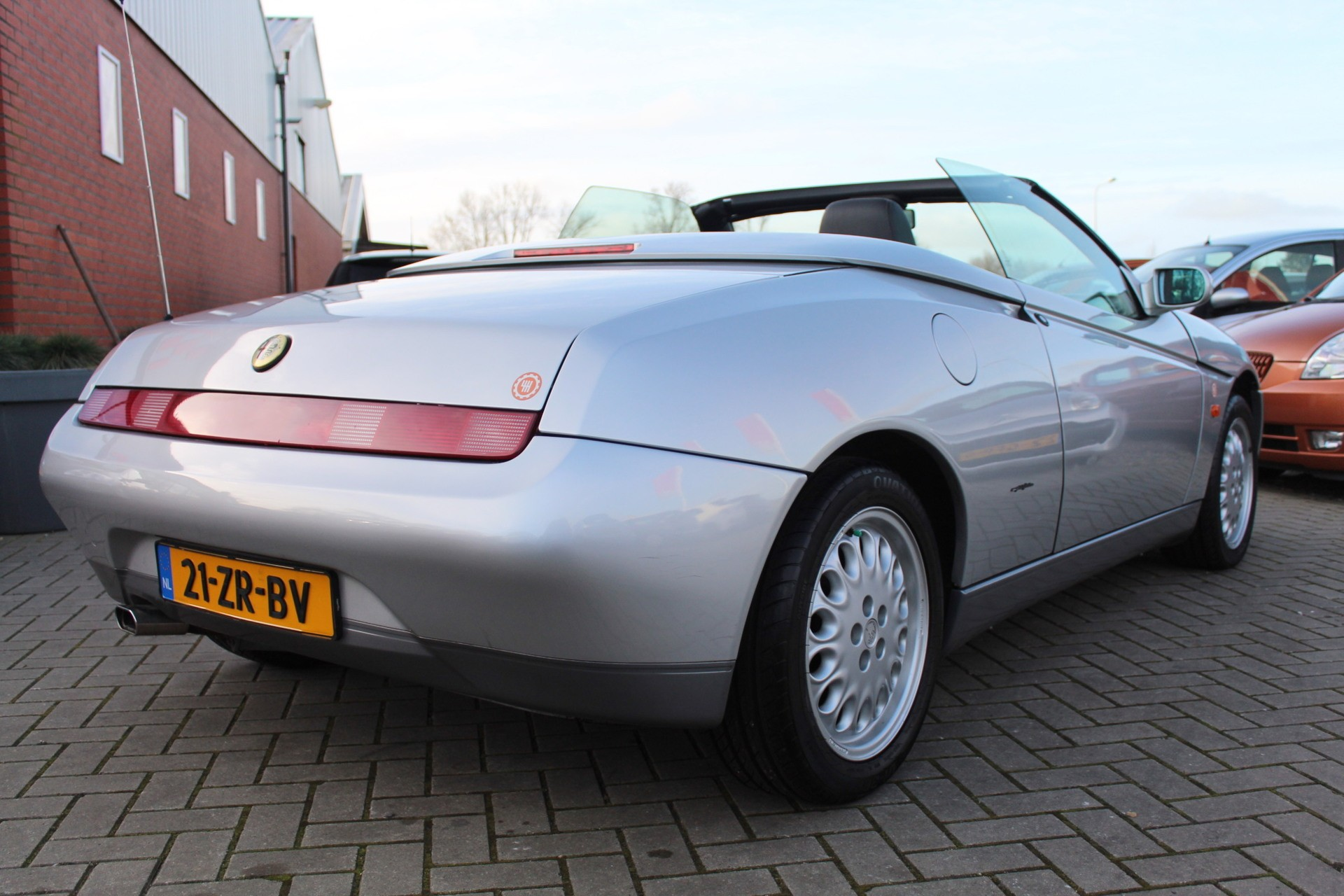 Caroutlet Groningen - Alfa Romeo Spider 2.0-16V T.Spark   PRACHTSTAAT   AIRCO  
