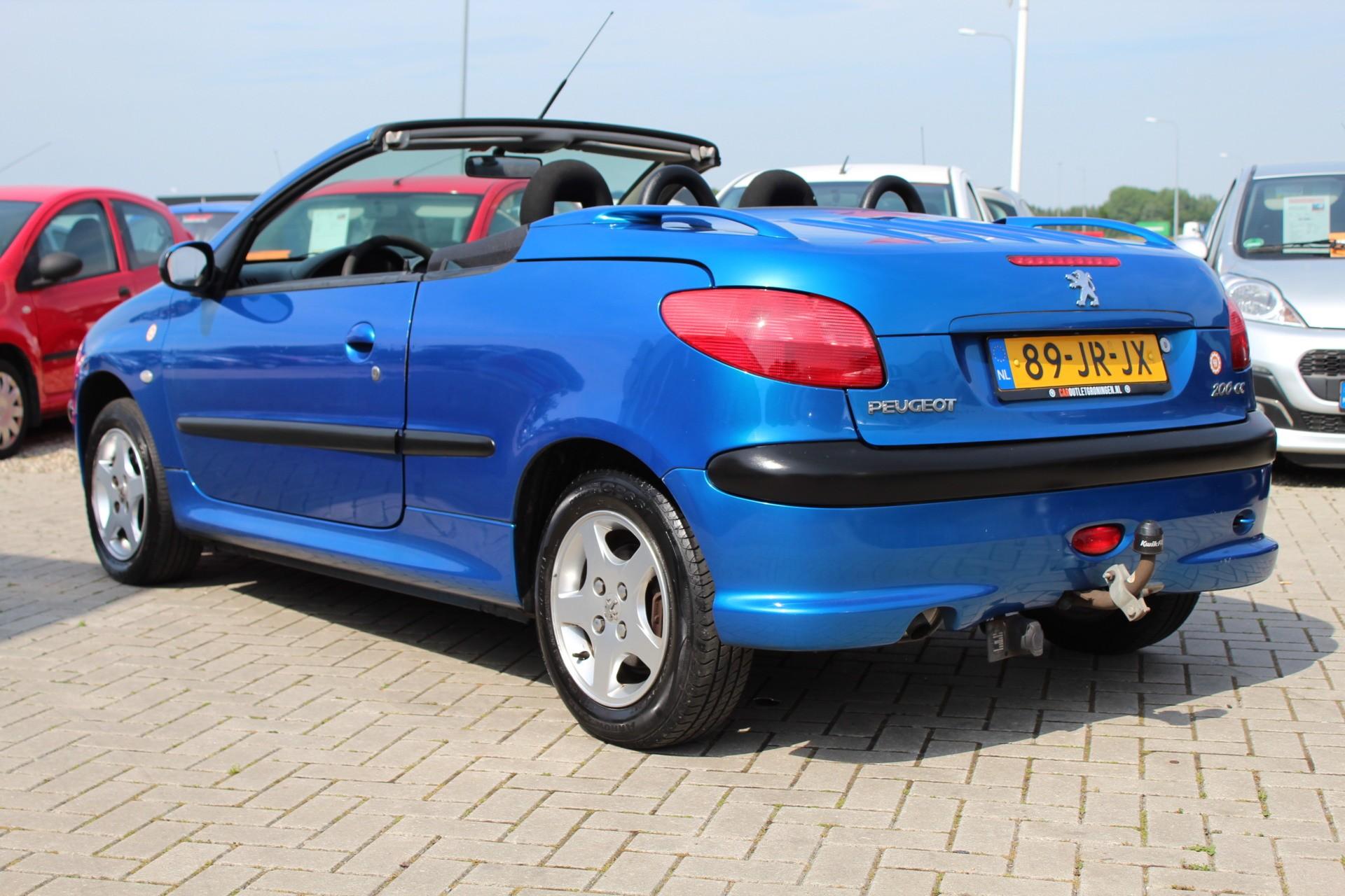 Caroutlet Groningen - Peugeot 206 CC 1.6-16V | INRUILKOOPJE |