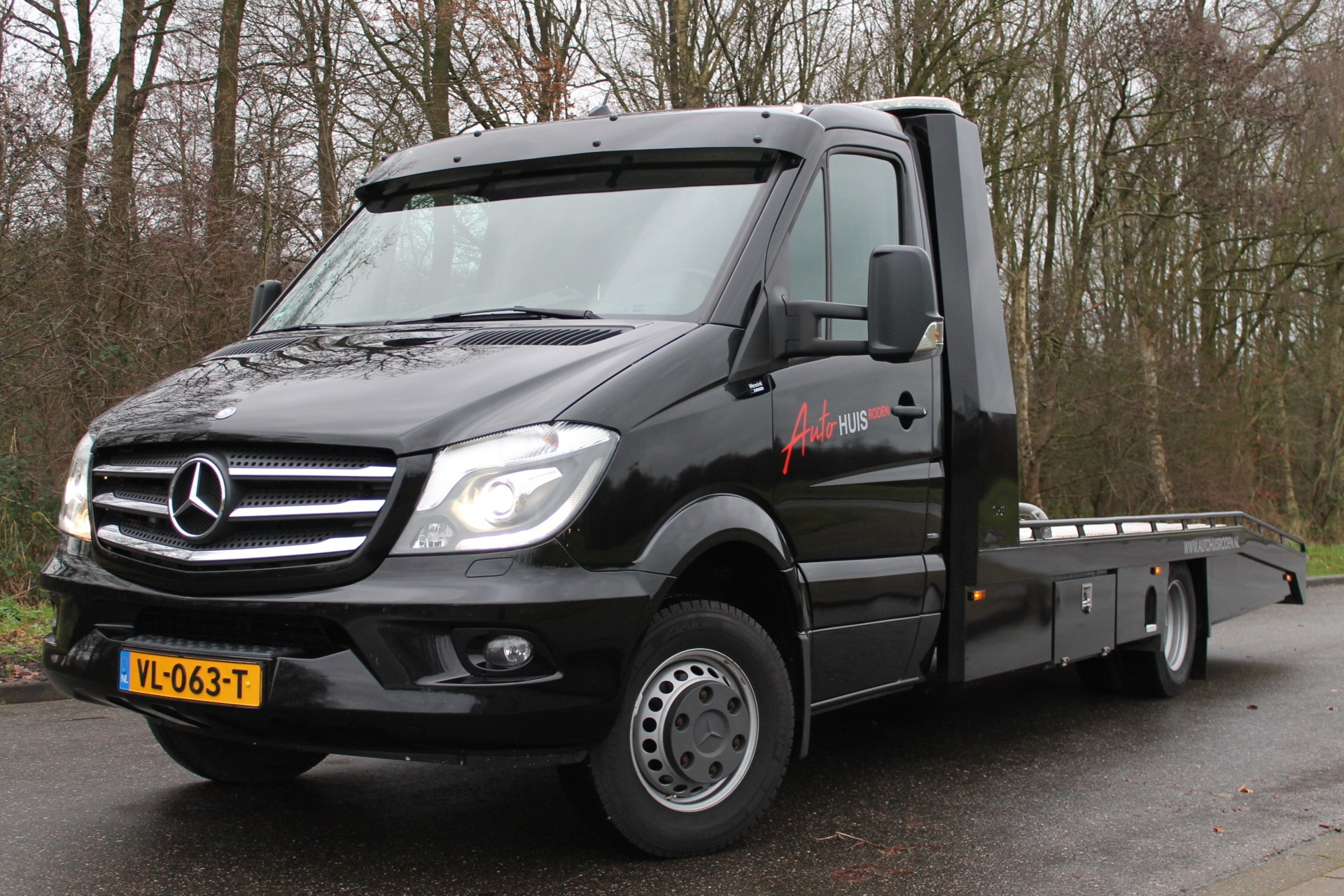 Mercedes Sprinter 519 3.0 V6 Tijhof oprijwagen *Full Option*