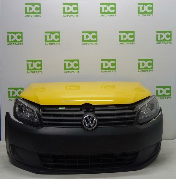 Volkswagen Caddy GP ('10-'15)Voorkop (compleet)geel