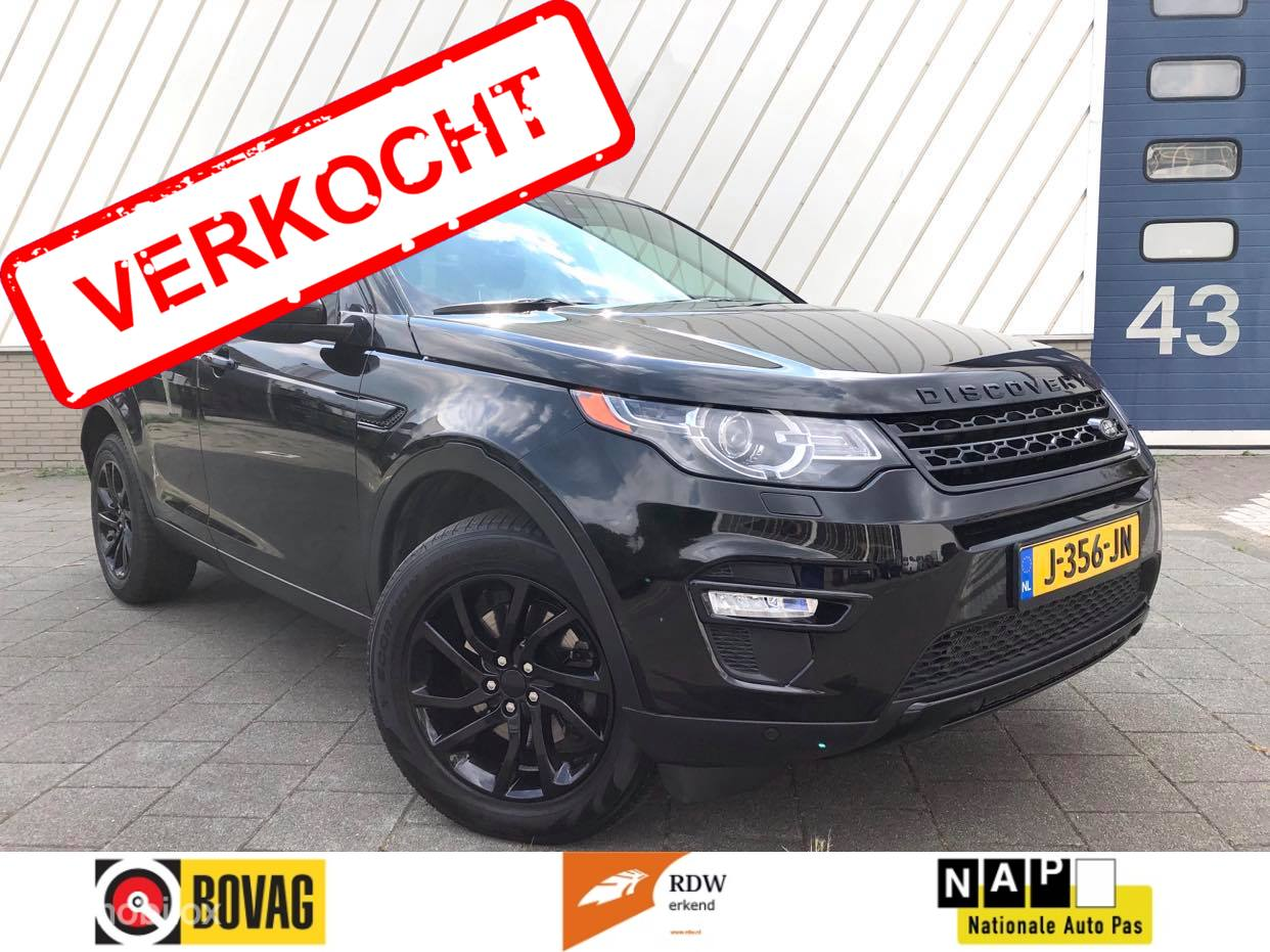 Land Rover Discovery Sport 2.0 Si4 4WD HSE Luxury 7p