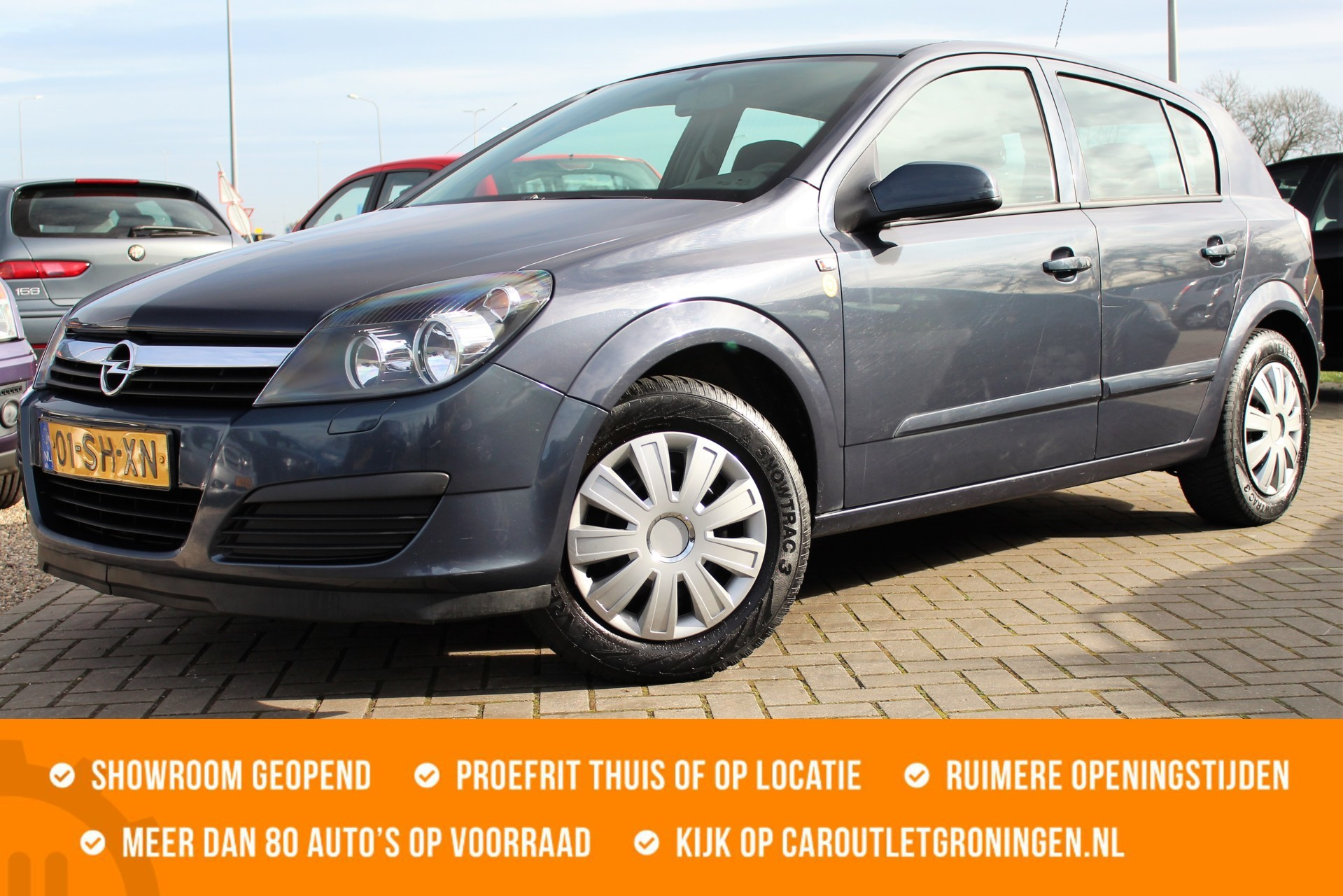 Caroutlet Groningen - Opel Astra 1.6 Business | NW APK | 5 DEURS | AIRCO |