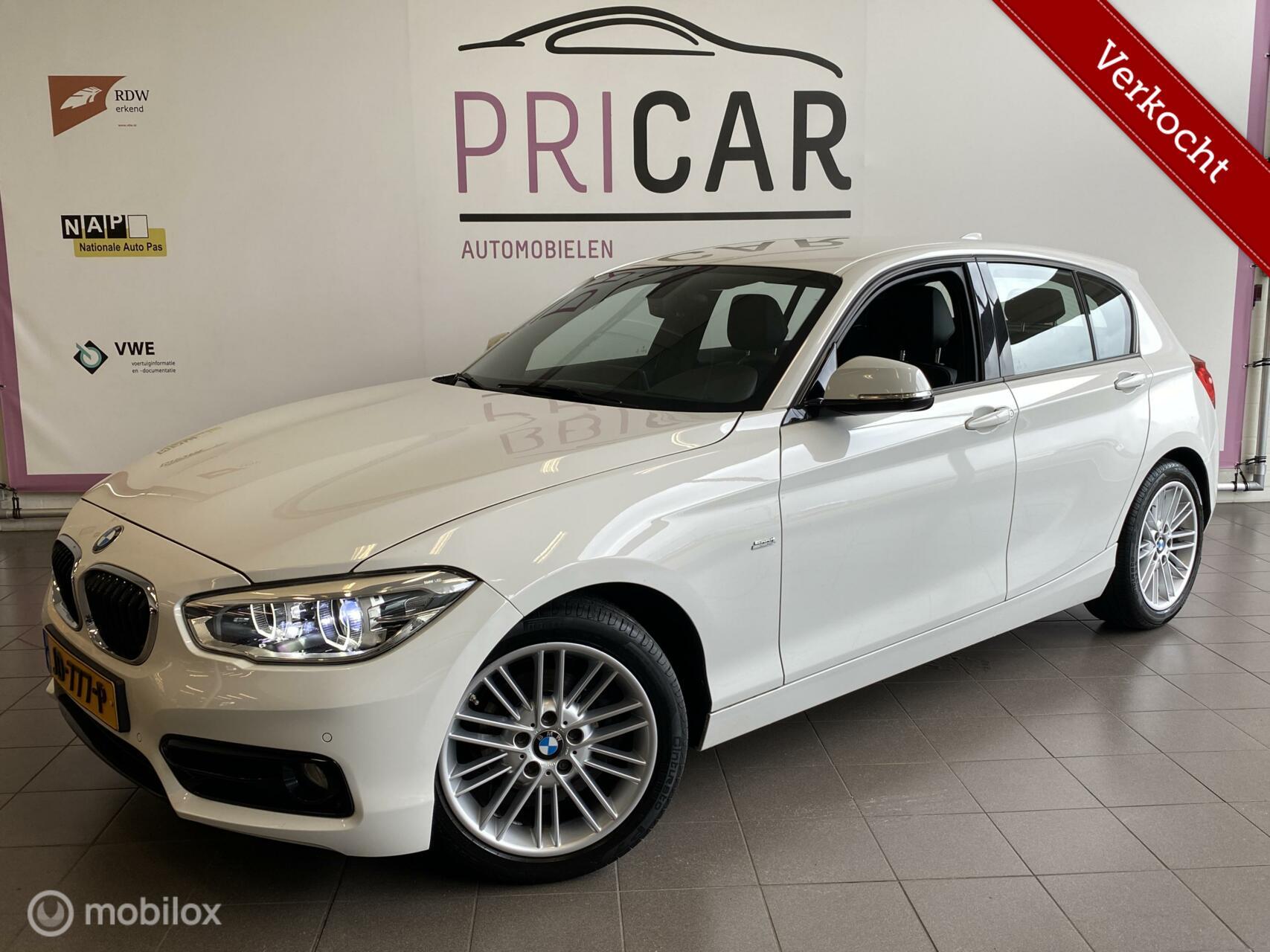 BMW 1-serie 116d High Executive LED/Sportline