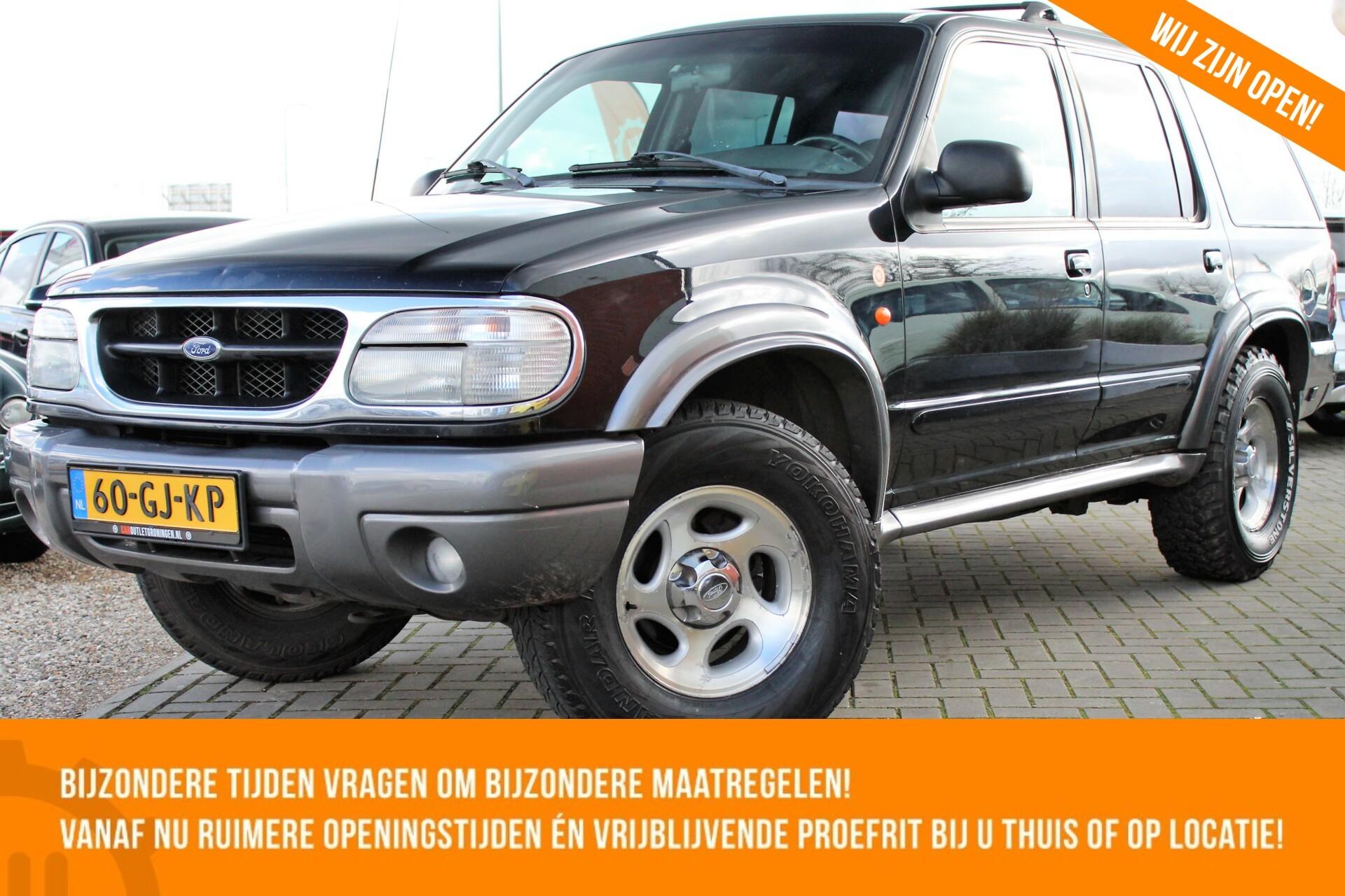 Caroutlet Groningen - Ford USA Explorer 4.0 V6 XLT 4×4 | LPG G3 | AUTOMAAT | AIRCO