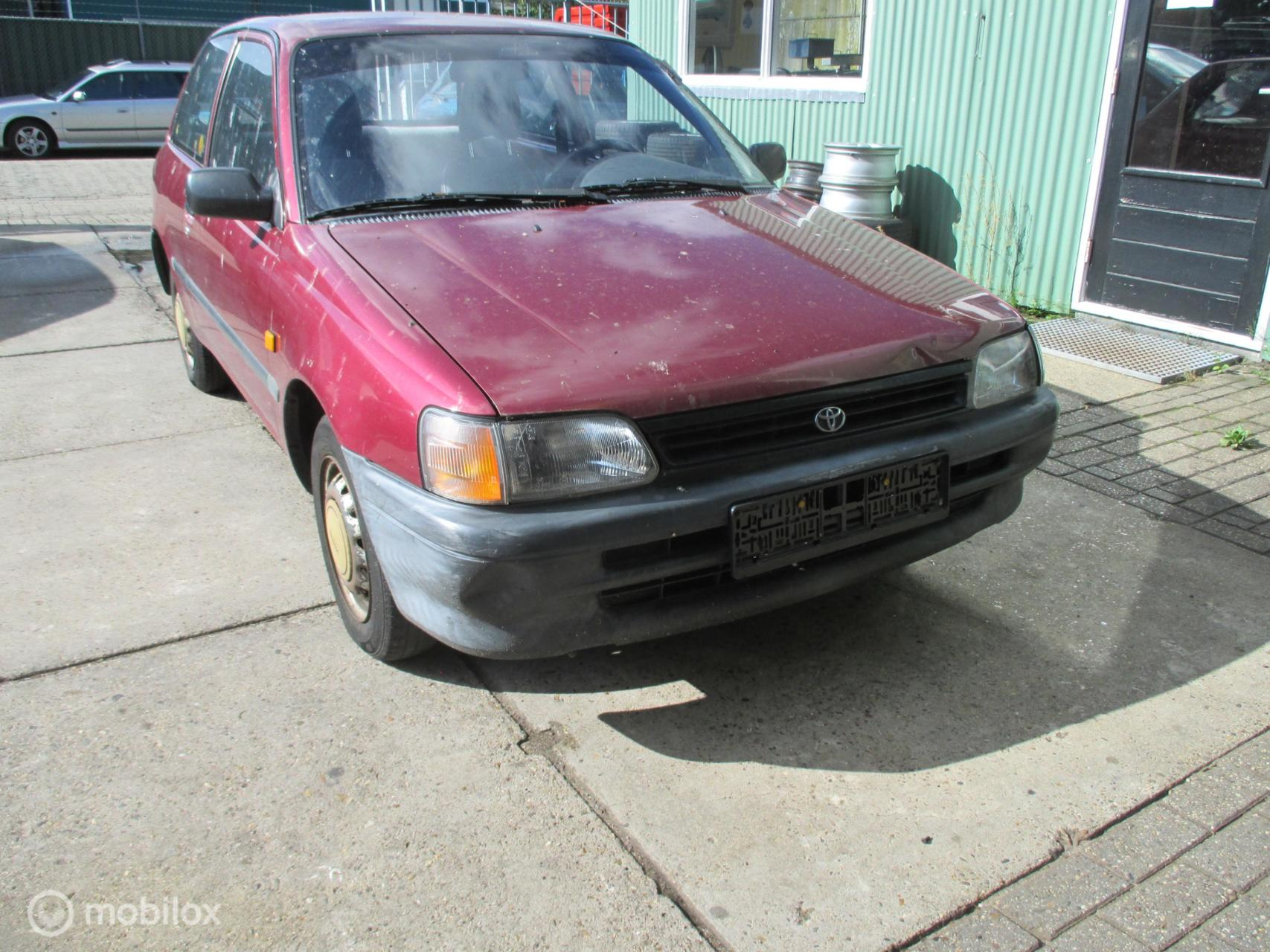 Onderdelen Toyota Starlet 1.3 GLi P8 1992