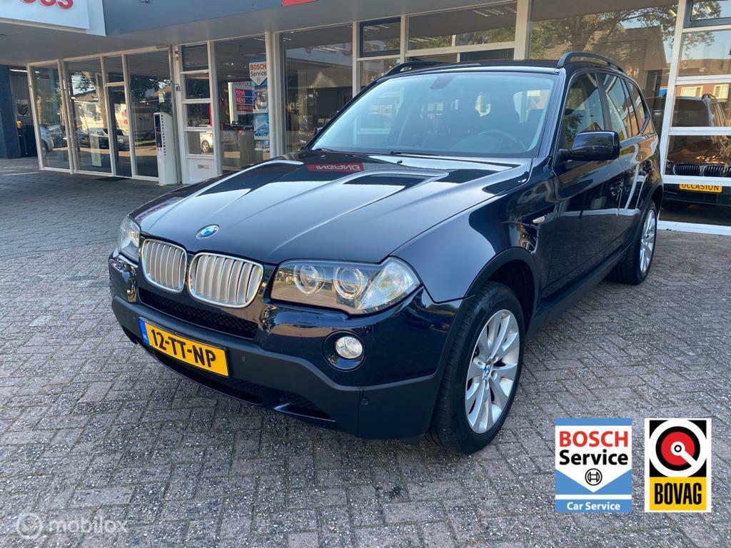 BMW X3 3.0sd High Executive Xenon, Leer, Navi