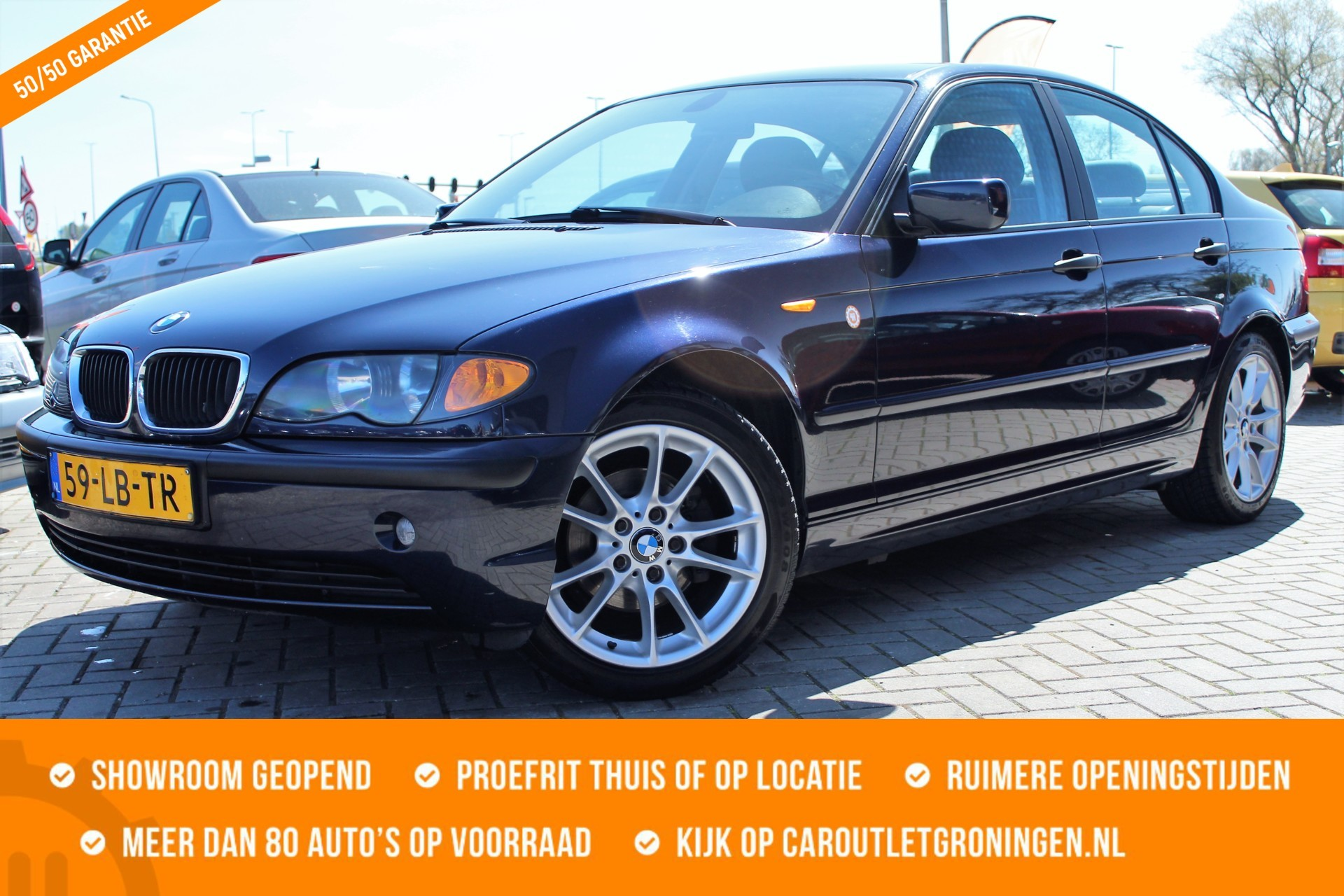 Caroutlet Groningen - BMW 3-serie 316i | AUTOMAAT | 188.000KM | CLIMA | CRUISE