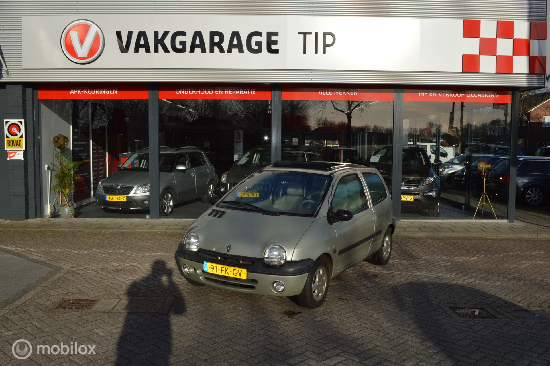 Renault Twingo 1.2 Initiale AUTOMAAT 1e eig.