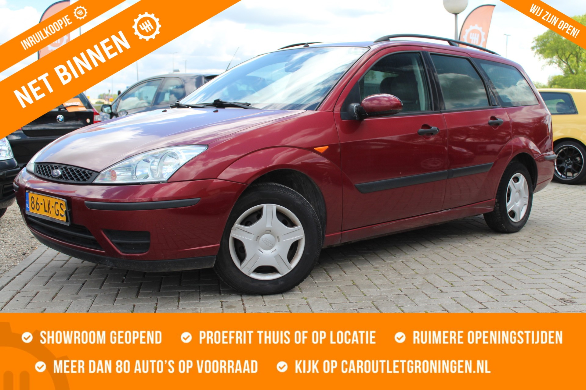 Ford Focus Wagon 1.6-16V Collection   INRUILKOOPJE   ZO MEENEMEN