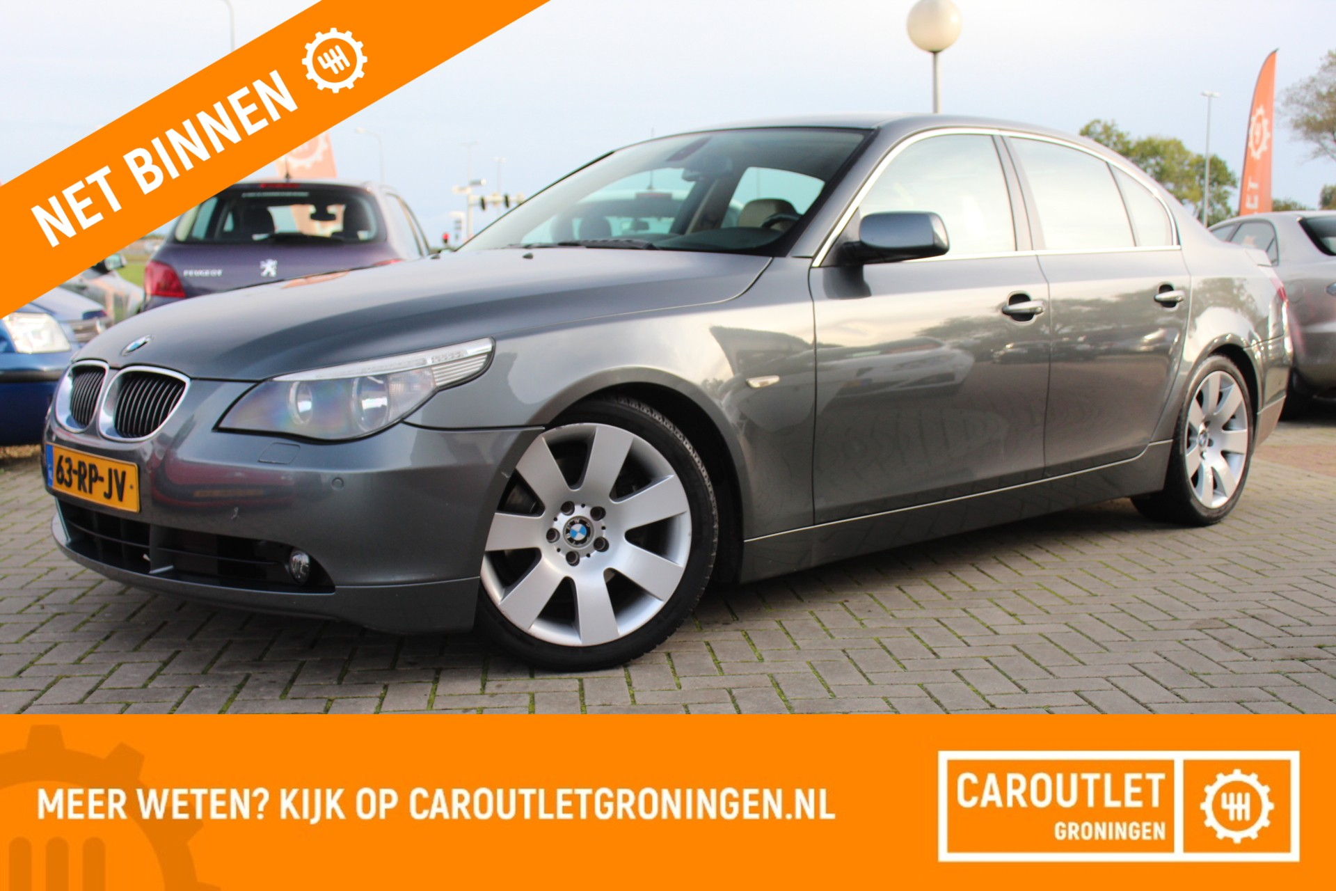 BMW 5-serie 530d Executive | NAVI | AUTOMAAT | CRUISE