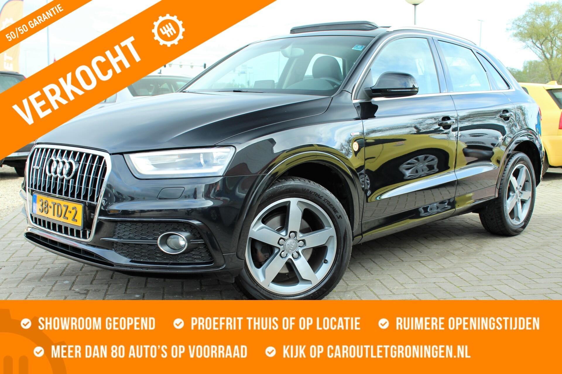 Caroutlet Groningen - Audi Q3 2.0 TDI quattro | 2X S-LINE | PANODAK | LED/XENON |