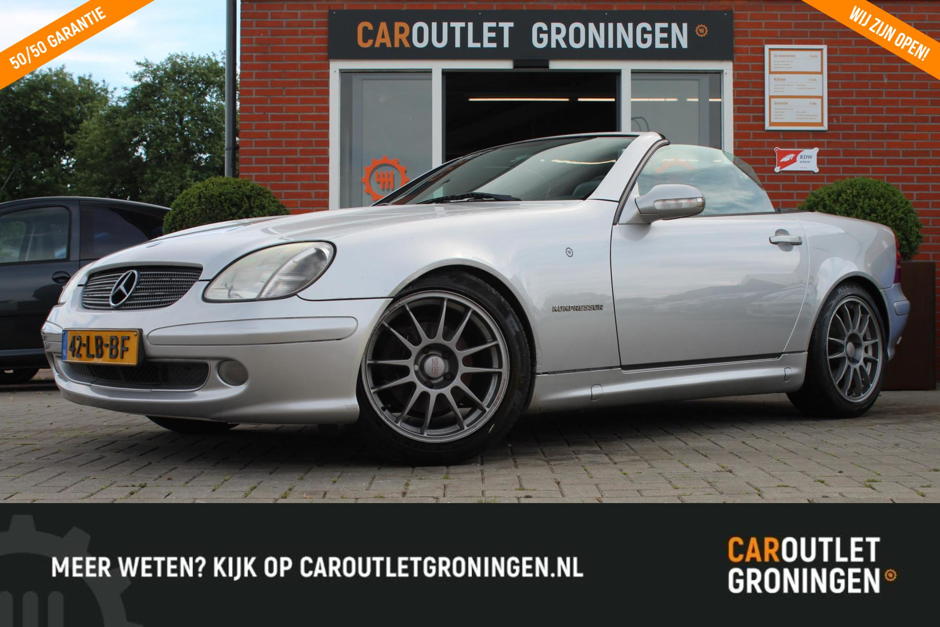 Caroutlet Groningen - Mercedes SLK-klasse 200 Kompressor   NET BINNEN  