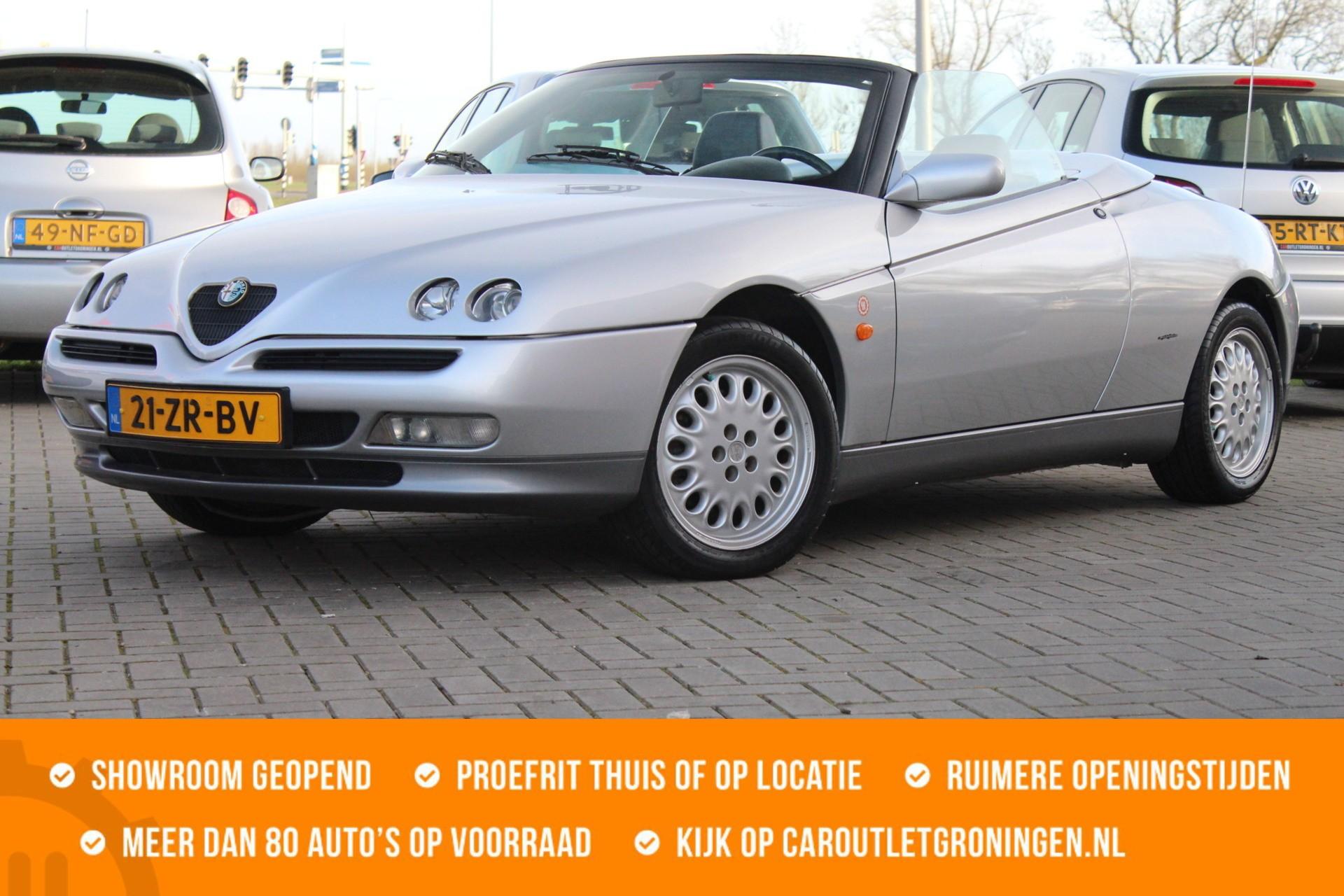Caroutlet Groningen - Alfa Romeo Spider 2.0-16V T.Spark | PRACHTSTAAT | AIRCO |