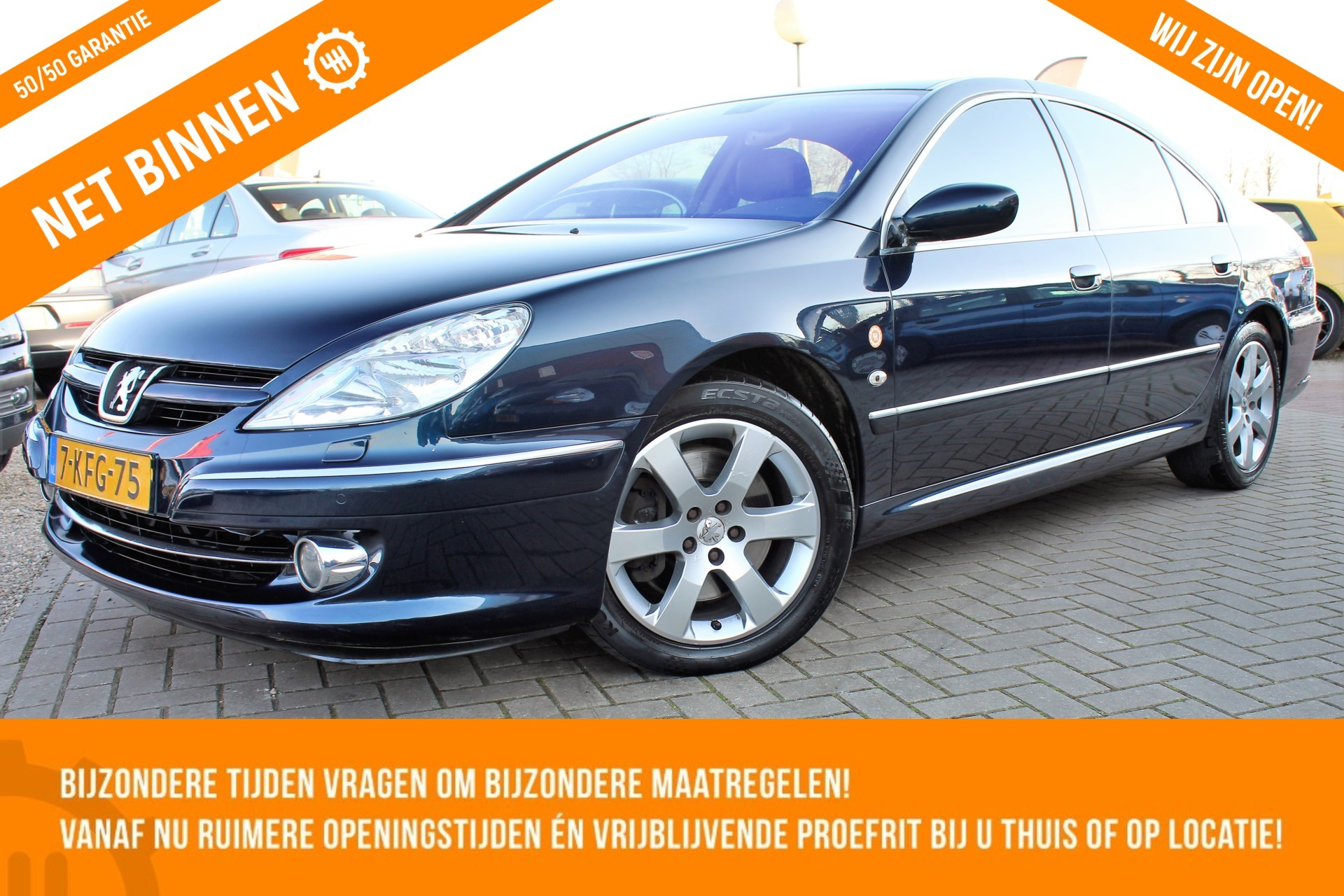 Peugeot 607 2.7 HDiF Executive | 2008 | NW DISTRI | LEER | AUTOMAAT
