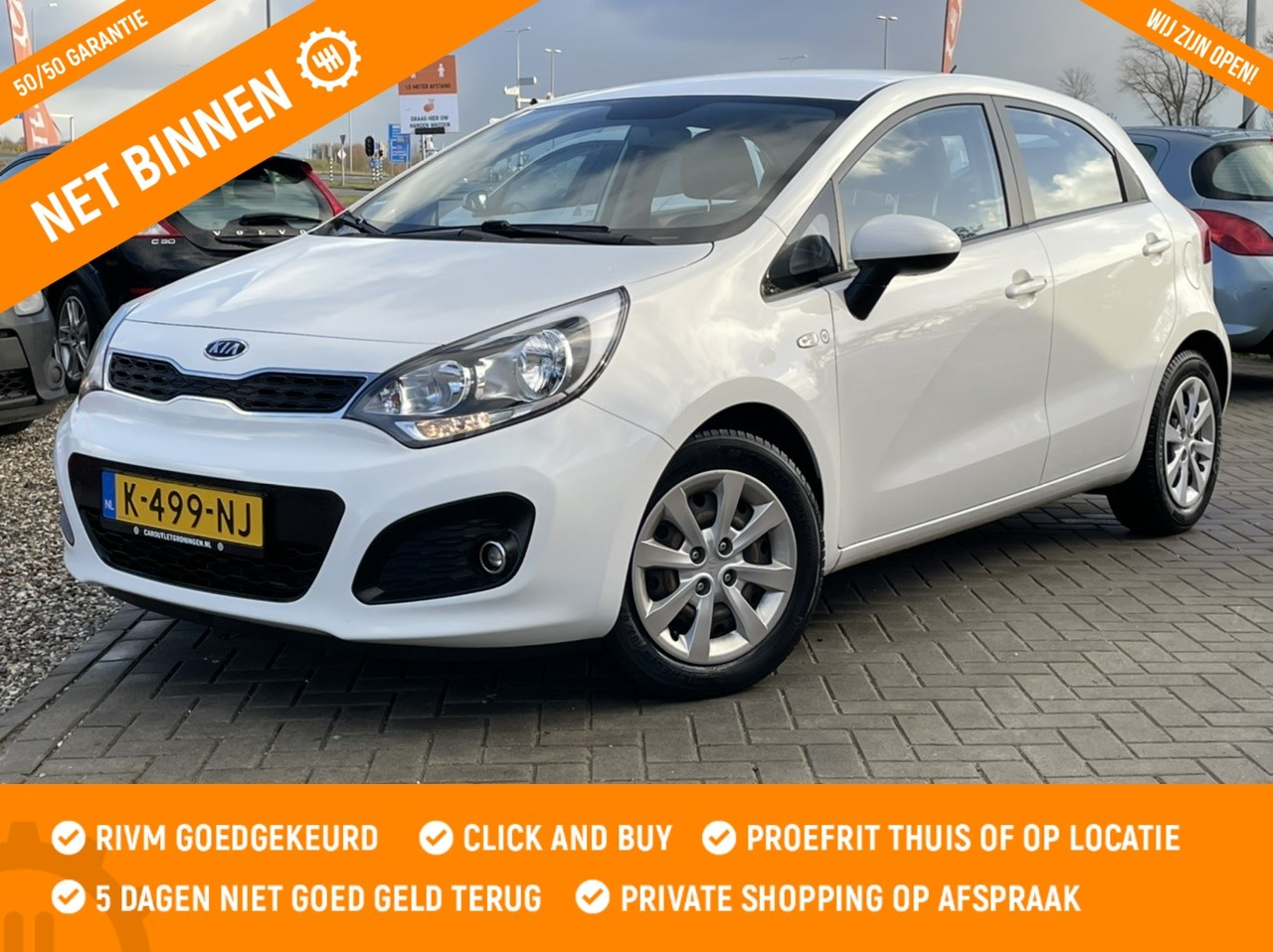 Kia Rio 1.2 CVVT Plus Pack  5D | 2012 | AIRCO | MULTIMEDIA  |