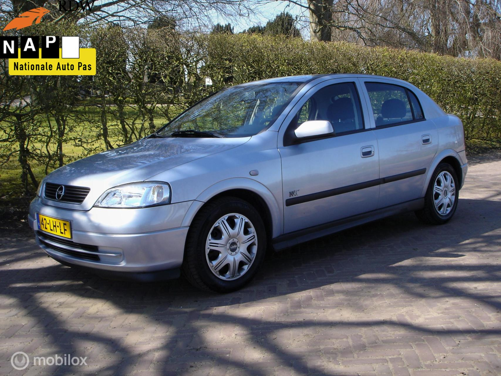 Opel Astra 1.6-16V Njoy (Bj 2003) Airco/5-Dr/APK/13-02-2022'