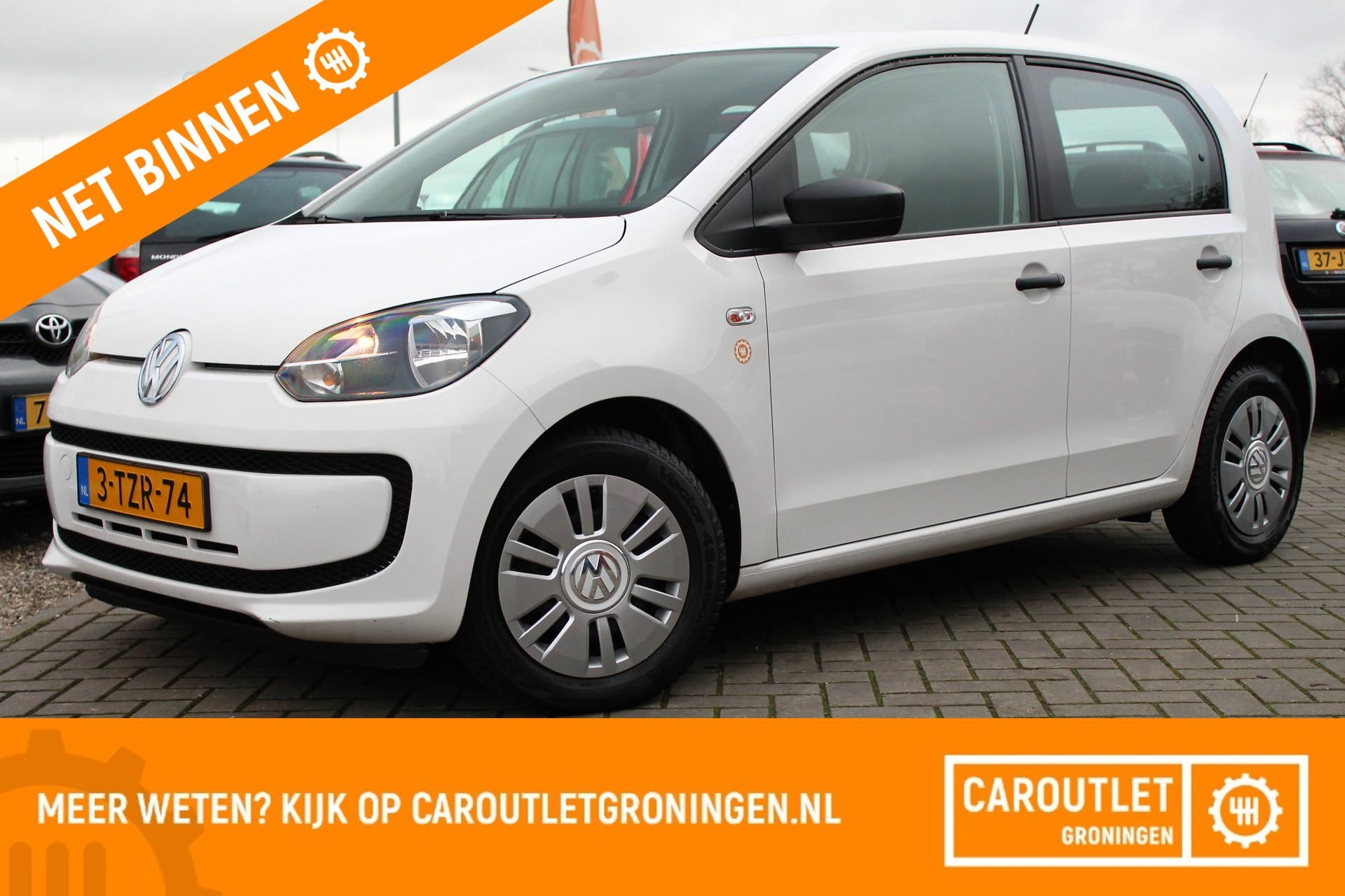 Volkswagen Up! 1.0 move up! BlueMotion   5 DEURS   AIRCO   2014