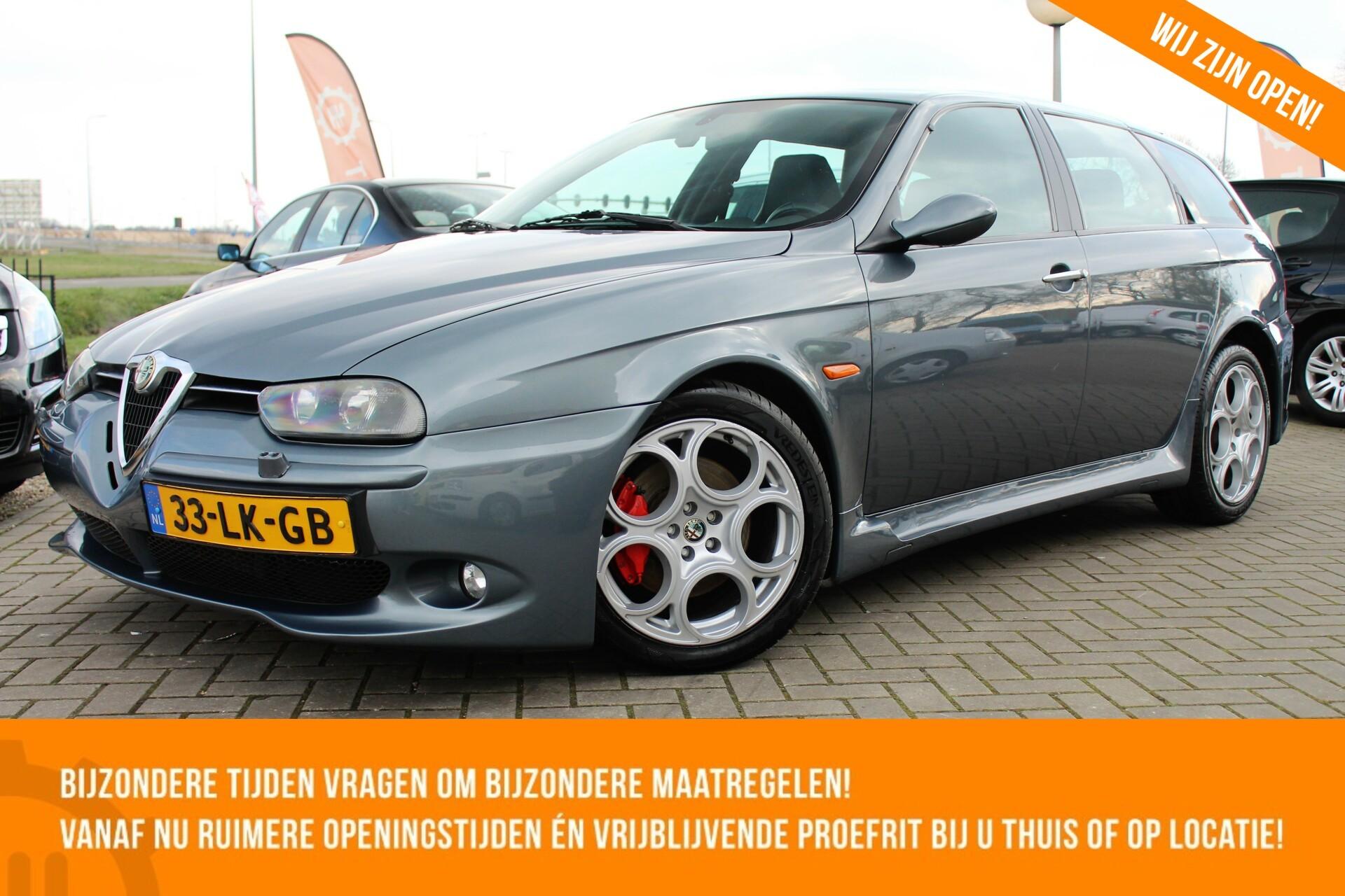 Caroutlet Groningen - Alfa Romeo 156 Sportwagon 3.2 V6 GTA | 1e EIGENAAR | TOP ONDERHOUDEN | ORIGINEEL