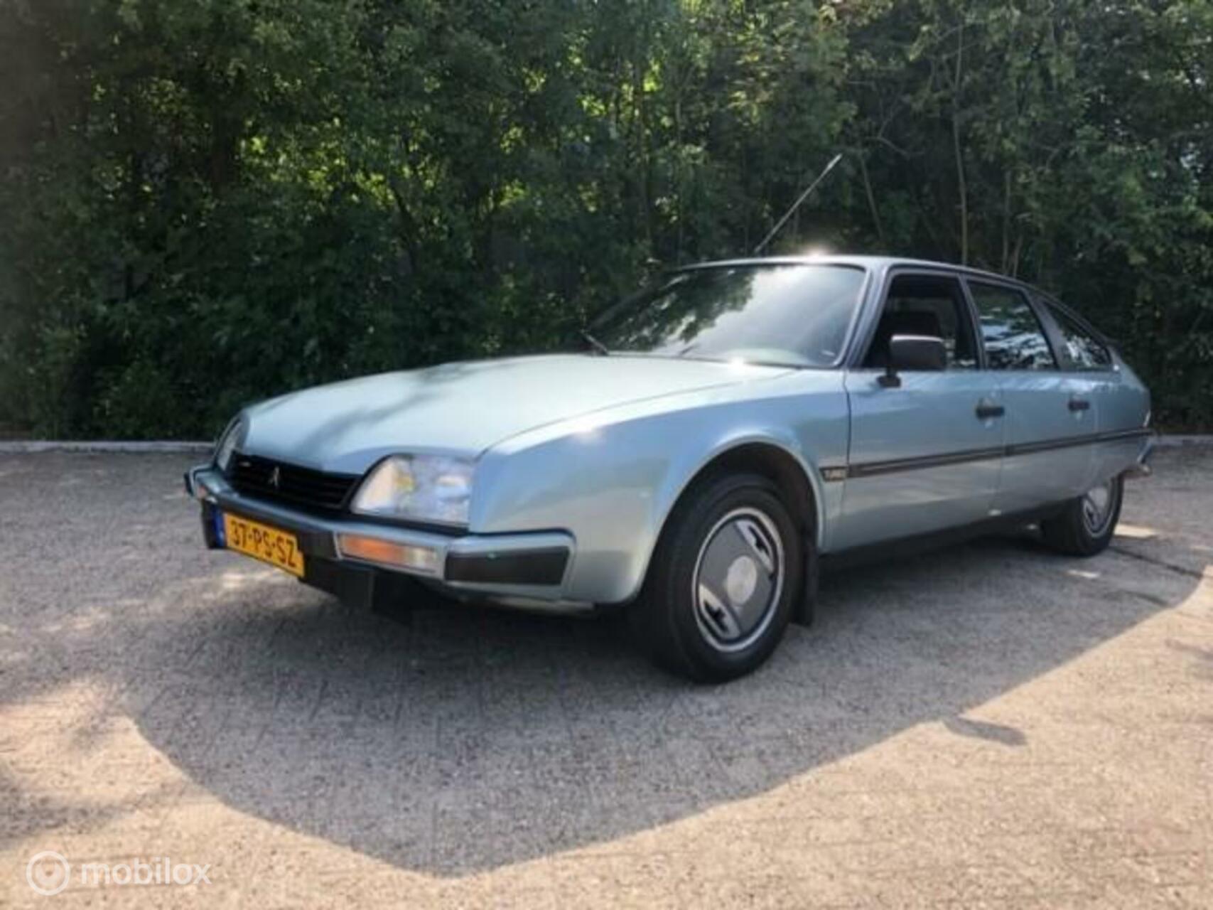 Uiterst correcte CX GTi Turbo overgangsmodel VERKOCHT
