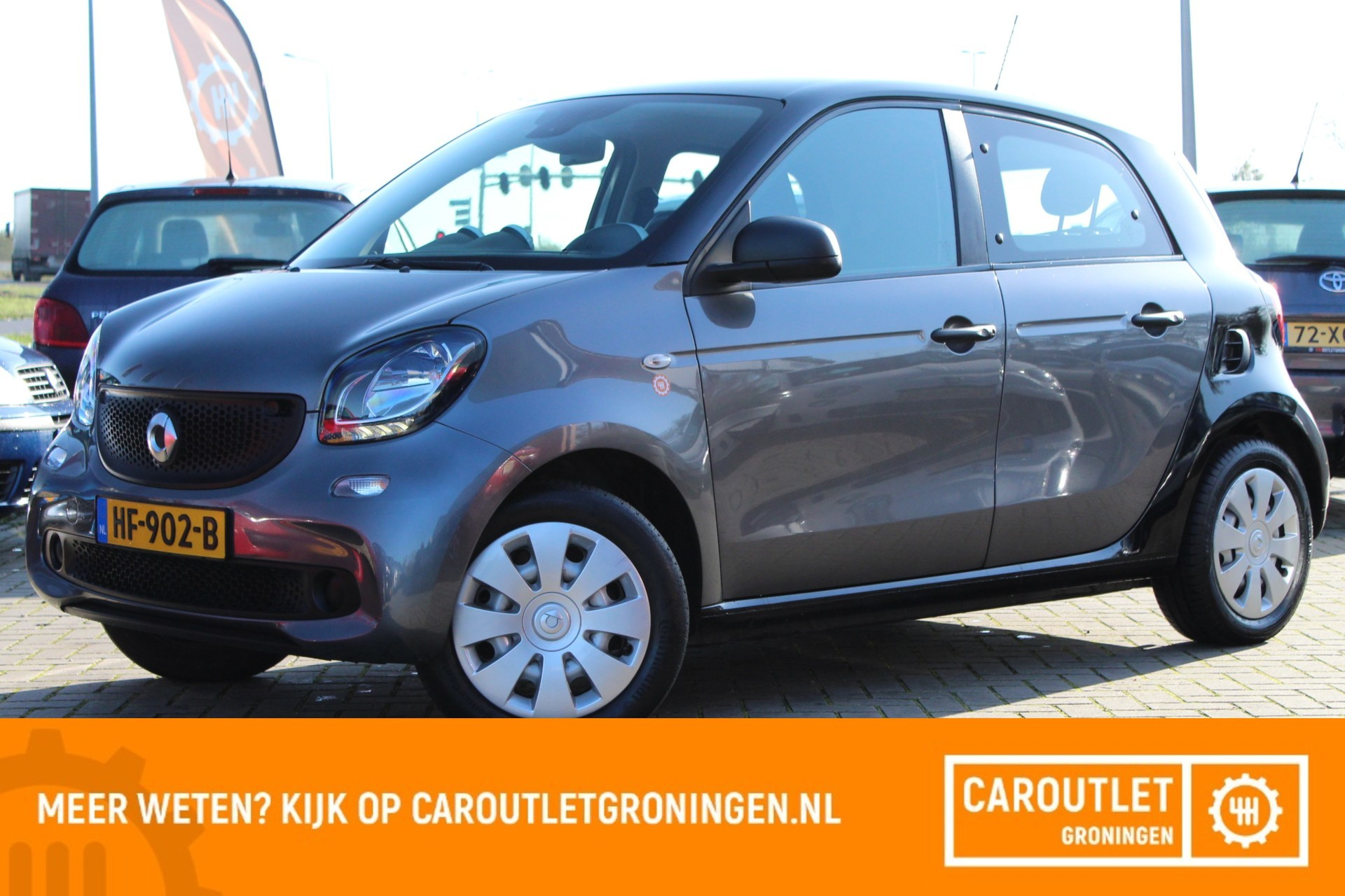 Caroutlet Groningen - Smart forfour 1.0 Pure | AIRCO | 2015 | CRUISE |