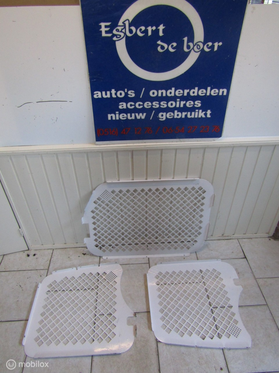 Anti diefstal roosters Ford Connect bj '03 t/m '11
