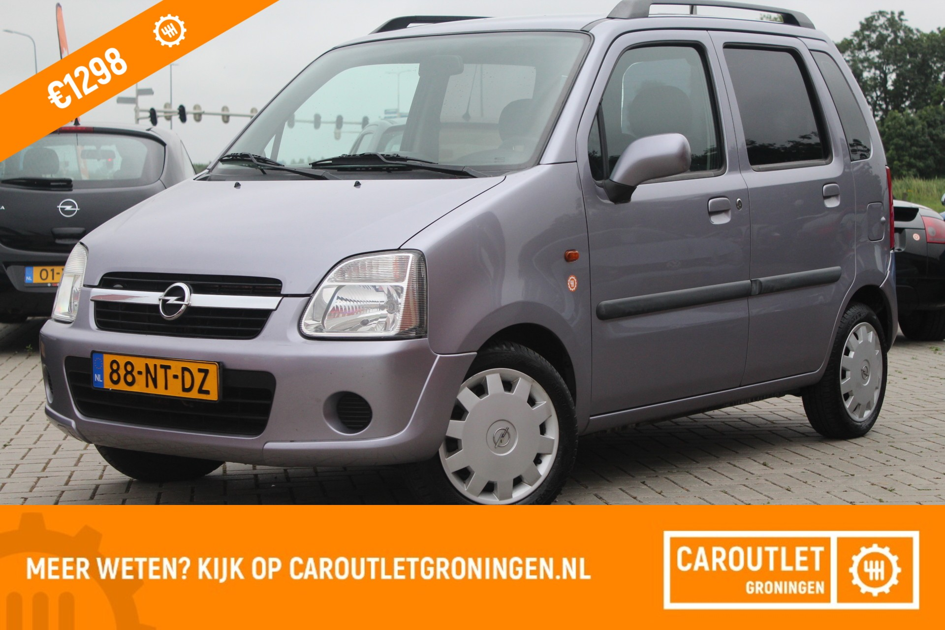 Opel Agila 1.2-16V Enjoy | AIRCO | TREKHAAK